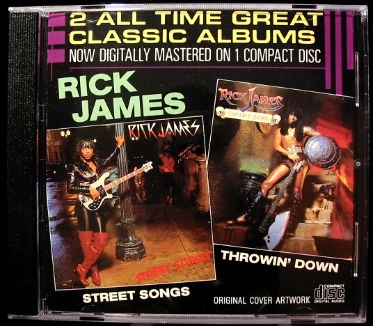 JAMES, RICK - The Best Of 10 Tracks